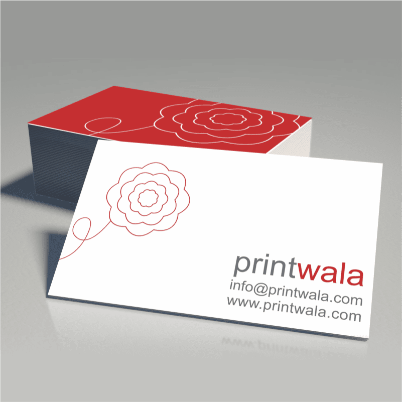 Business Card Printers in Ahmedabad, Gujarat, India - Matte Business Card Mokeup 3